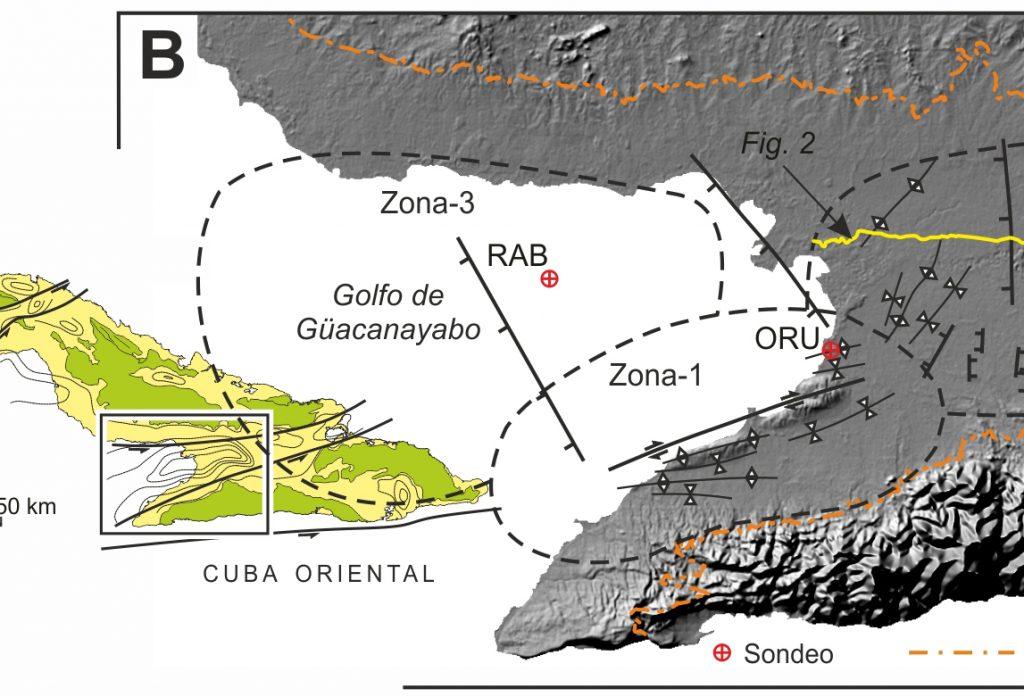 Tectono-stratigraphic evolution of the Cauto-Güacanayabo Basin, Cuba.