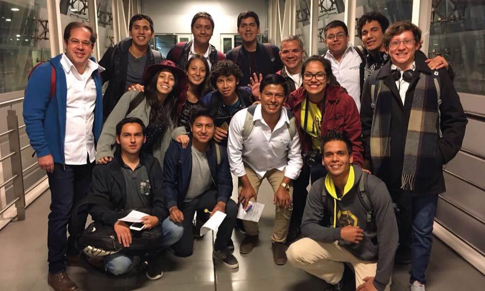 Estudiantes de Yachay Tech visitaron la Universidad de los Andes, Colombia