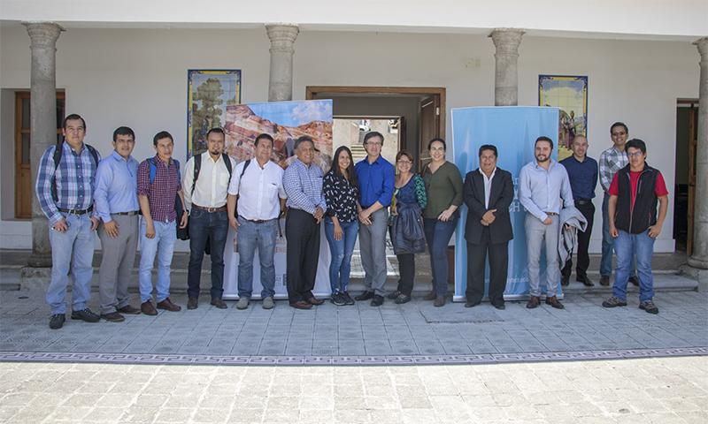 La Universidad Yachay Tech recibió la visita del Ministerio de Agricultura y Ganadería