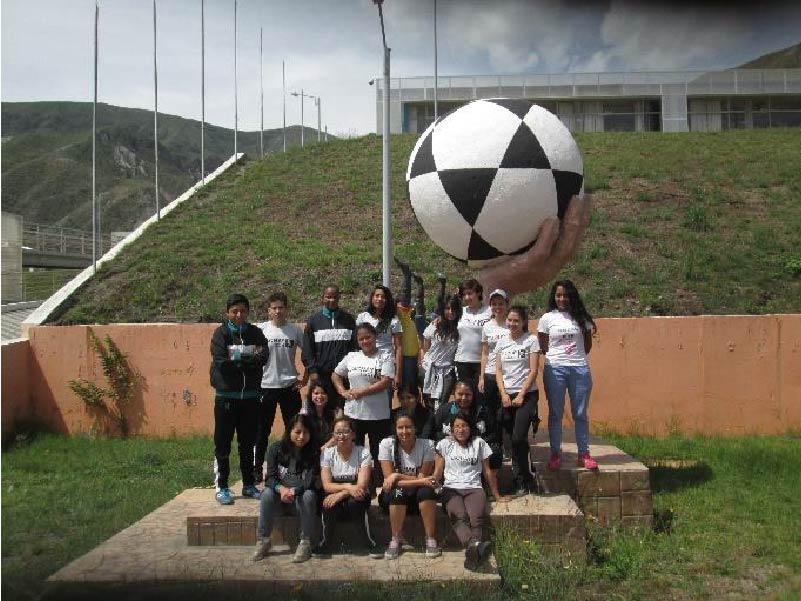 Deportistas de la Universidad Yachay Tech vistan CEAR de Carpuela