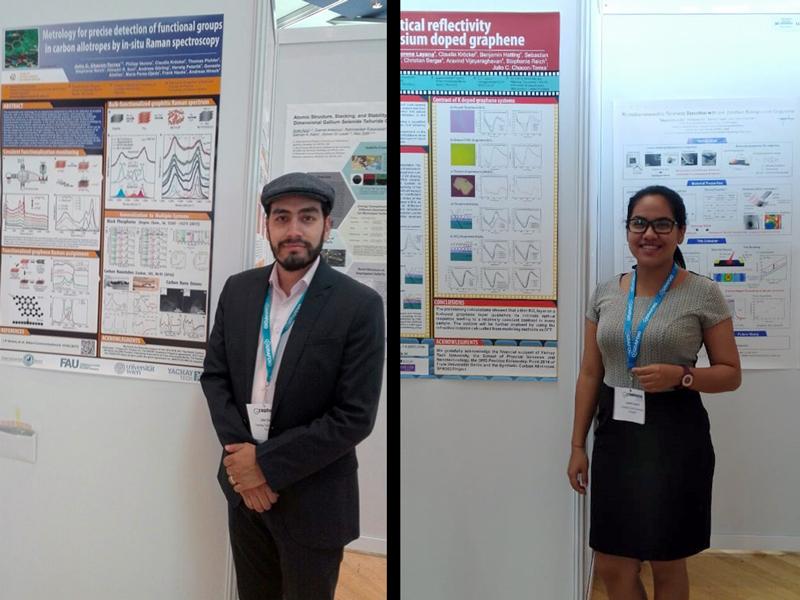 Yachay Tech presente en la Conferencia de Grafeno 2018 en Dresden (Alemania)
