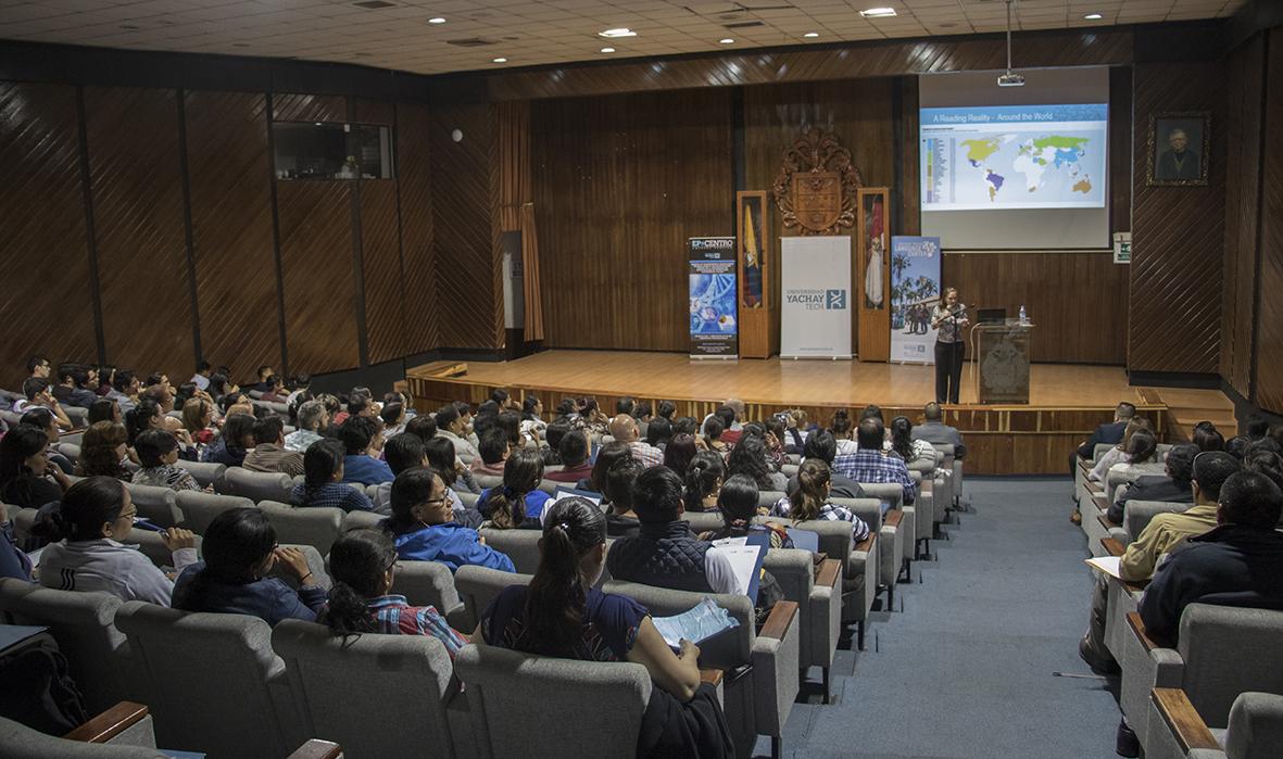 Centro de Idiomas de la Universidad Yachay Tech organiza conferencia internacional