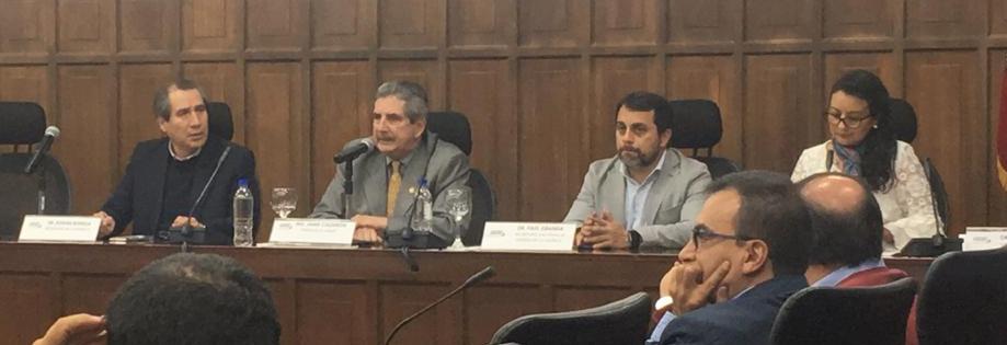 Rectores discuten presupuestos con representantes del gobierno