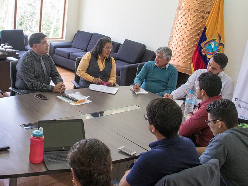 Rectores de la UEMY y Yachay Tech establecen lazos de cooperación