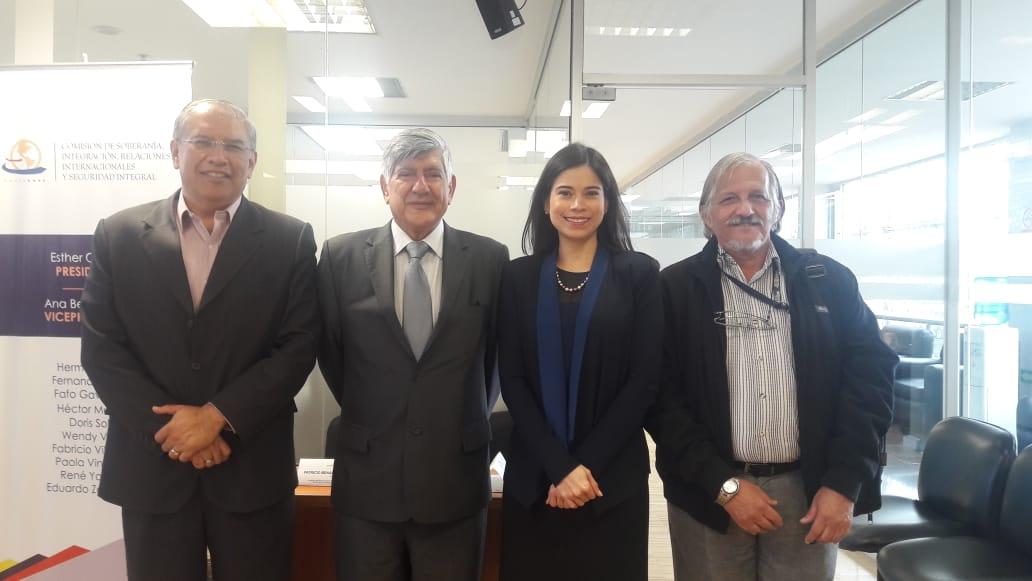 Autoridades de Yachay Tech se reúnen con legisladores