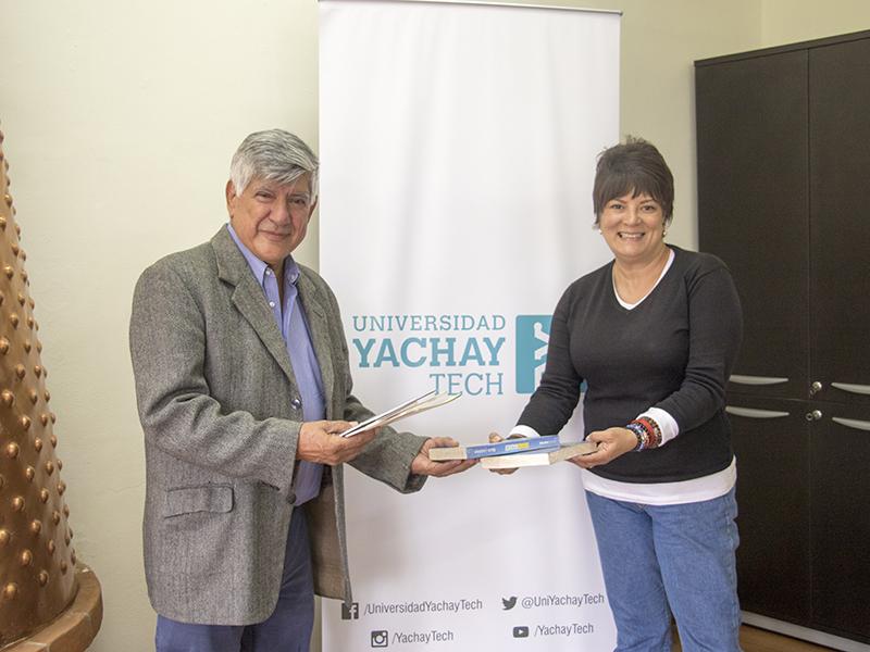 Biblioteca Patrimonial Yachay Tech recibió una donación