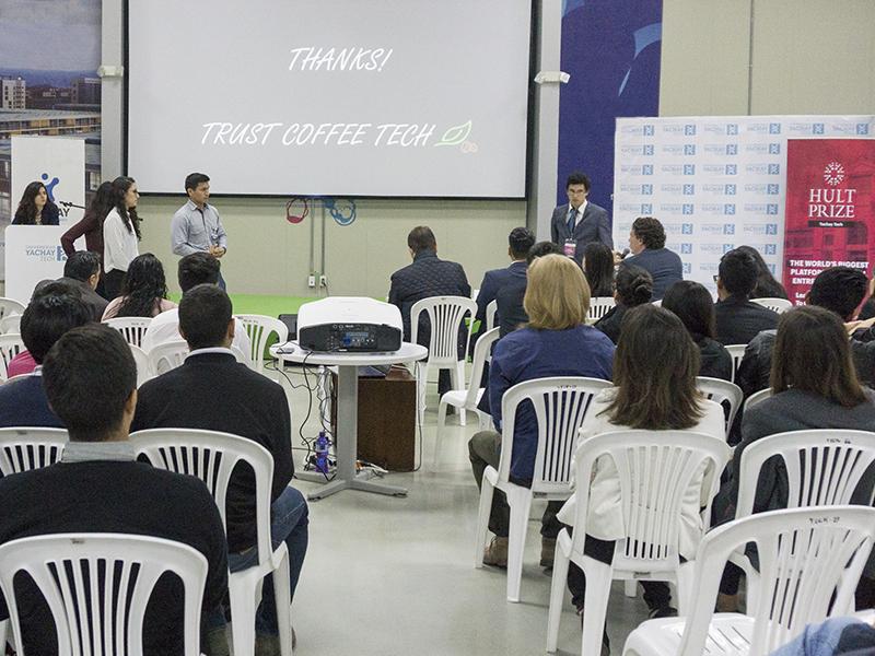 Estudiantes de Yachay Tech buscan hacer al café más sostenible