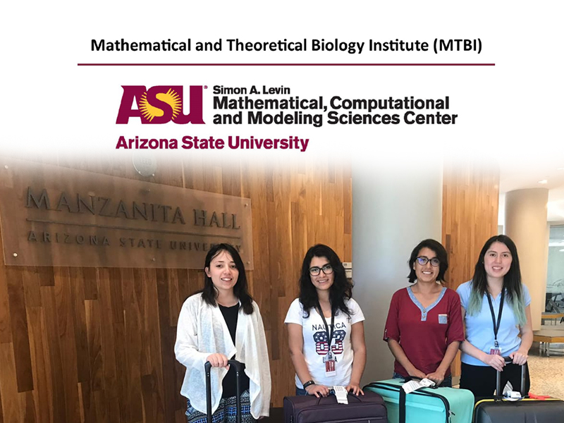 Estudiantes de Yachay Tech becadas en Arizona State University