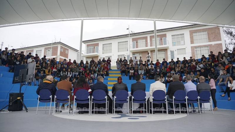 TWO HUNDRED AND FORTY STUDENTS ARRIVE AT YACHAY TECH