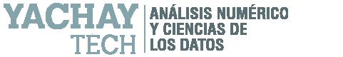ANÁLISIS NUMÉRICO Y CIENCIAS DE LOS DATOS (GANCID)