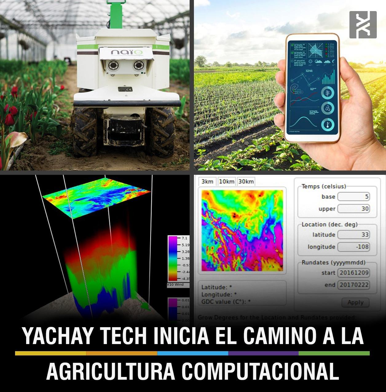 YACHAY TECH INICIA EL CAMINO A LA AGRICULTURA COMPUTACIONAL